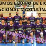 Calendario de la Liga Nacional de baloncesto masculino de los equipos Jiennenses